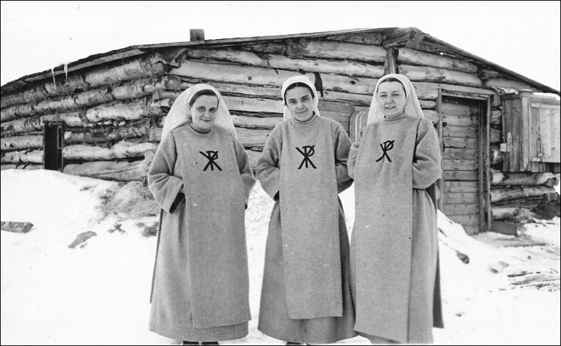 Premier monastère, Alberta - 1943