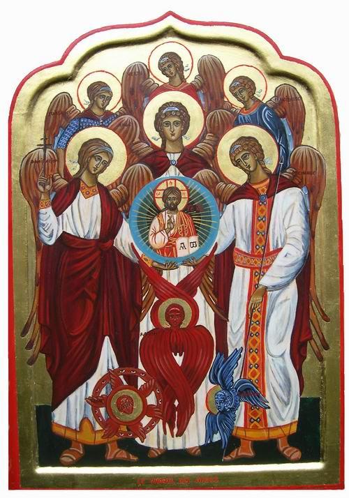 Les neuf choeur des anges