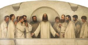 La_Prière_Sacerdotale_1900-1_Eugène Burnand